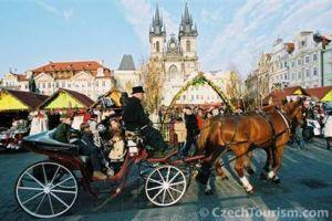 Velykinė mugė Prahoje