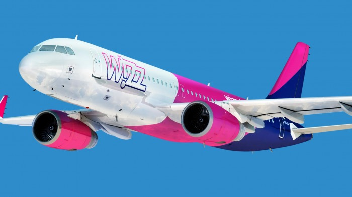 wizzair lėktuvas