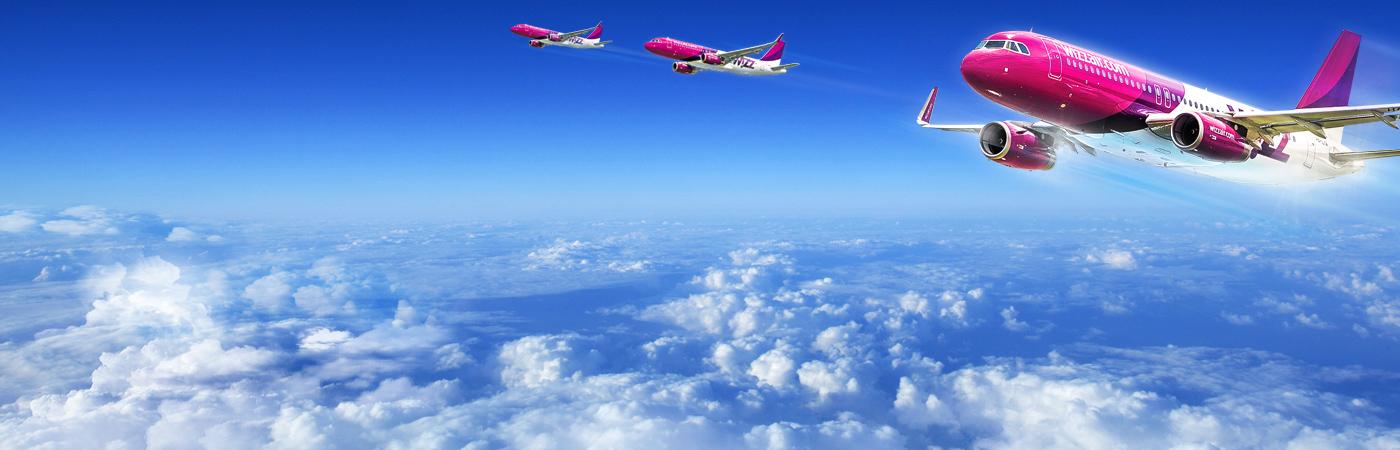 Wizzair skrydžiai nauju maršrutu